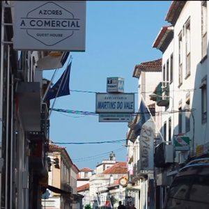 Memórias em Trânsito: Rua Machado dos Santos, Ponta Delgada