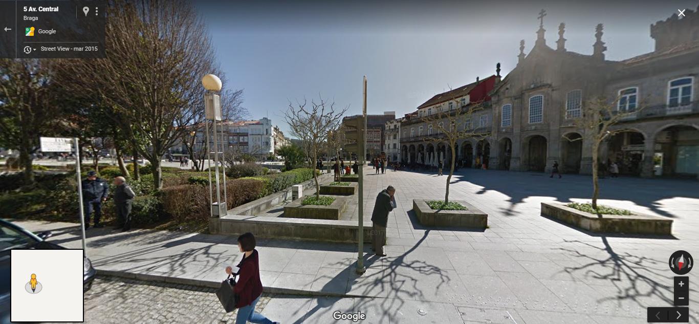 <h4>Fig.09 - Arcada</h4><p>Fig.09 – Arcada – Street View of Braga (2019)</p>