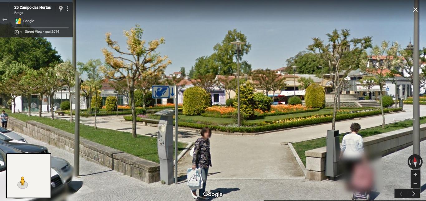 <h4>Fig.11 - Campo das Hortas</h4><p>Fig.11 – Campo das Hortas – Street View of Braga (2019)</p>