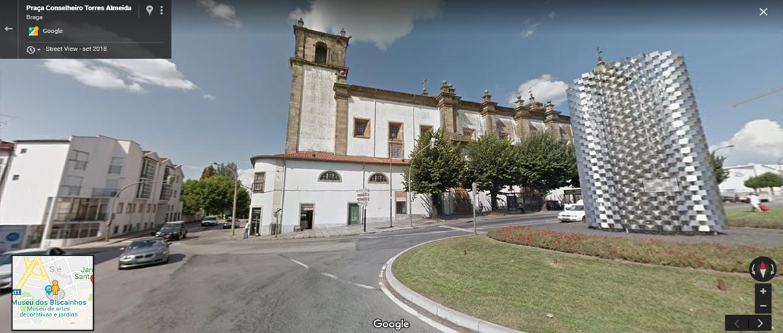 <h4>Fig.13 - Conselheiro torres almeida</h4><p>Fig.13 – Praça Conselheiro Torres Almeida – Street View of Braga (2019)</p>
