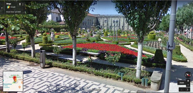 <h4>Fig.12 - Jardim de Santa Barbara</h4><p>Fig.12 – Jardim de Santa Bárbara – Street View of Braga (2019)</p>