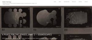 King, J. (2018, September 24). A place for the senses, part 2 – Soundscapes