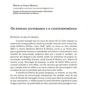 Martins, M.L. (2017). The Illustrated Postcards and the Contemporary