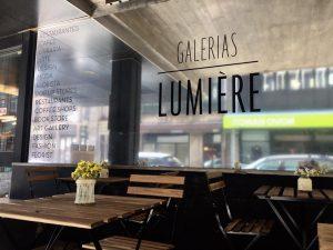 Galerias Lumière e Livraria Poetria