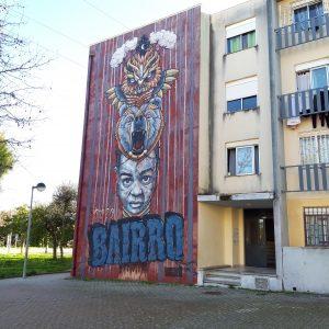 Peace, bread, urban art, health and education