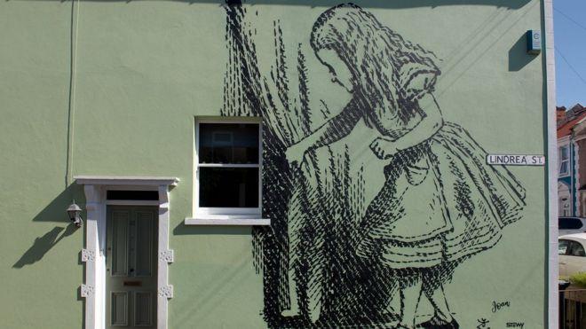 <h4>Alice - Mural (BBC Photography(</h4><p></p>