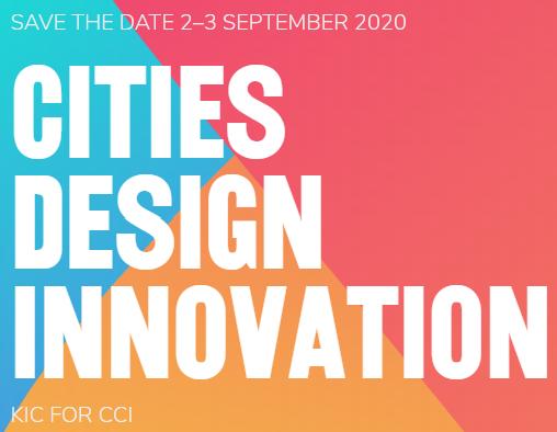 <h4>Cartaz da Conferência Cities, Design and Innovation</h4><p></p>
