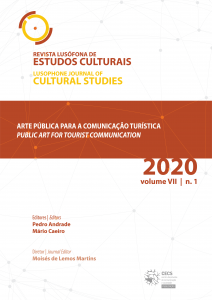 Lusophone Journal of Cultural Studies | Public art for tourist communication