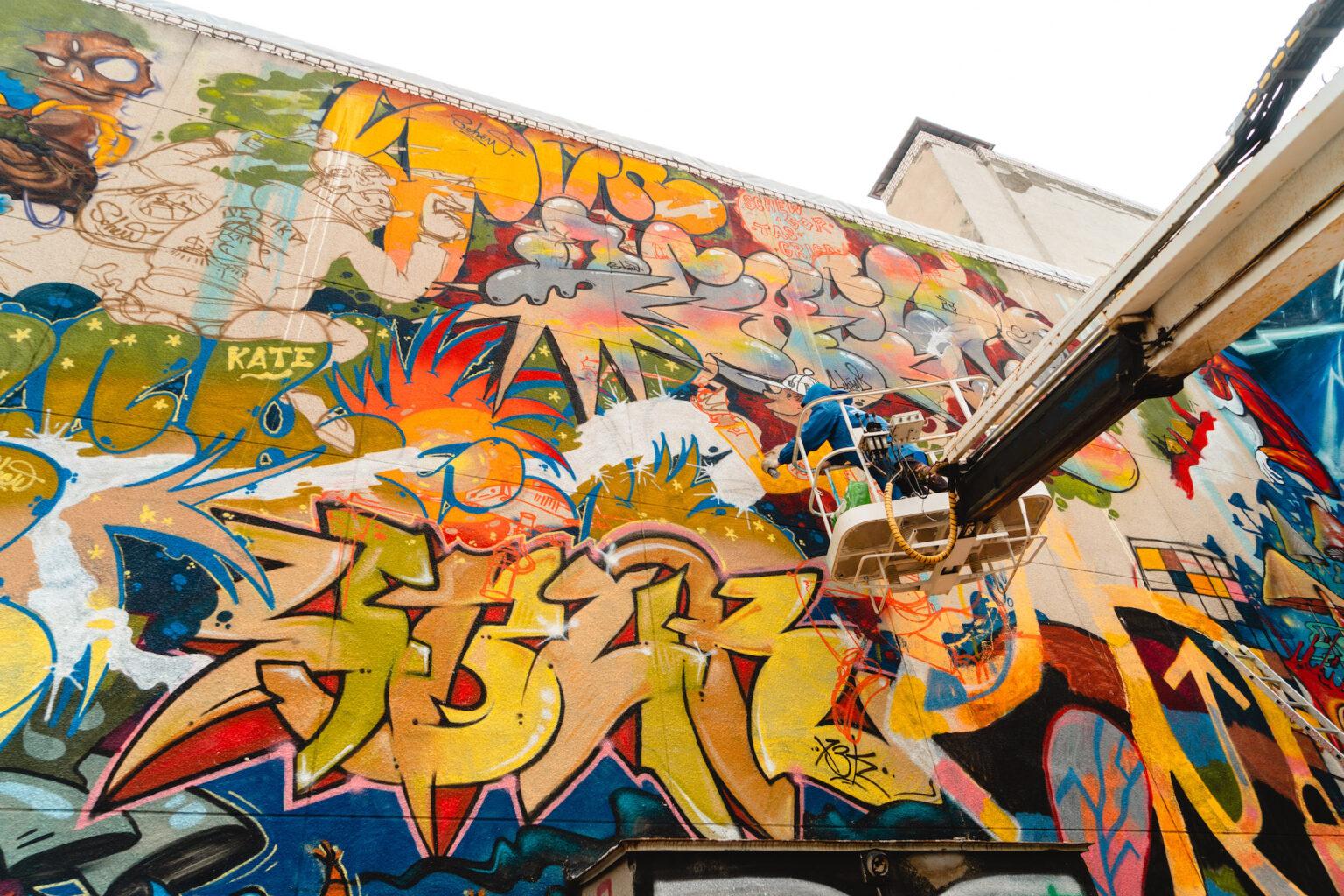 <h4>Festival de Graffiti - Imagem retirada de Street Art News</h4><p></p>