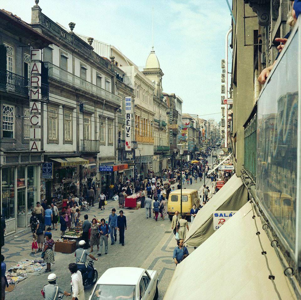 Rua de Santa Catarina | @PortoDesaparecido