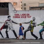 <h4>Covid-19 in the street art discourse</h4><p></p>