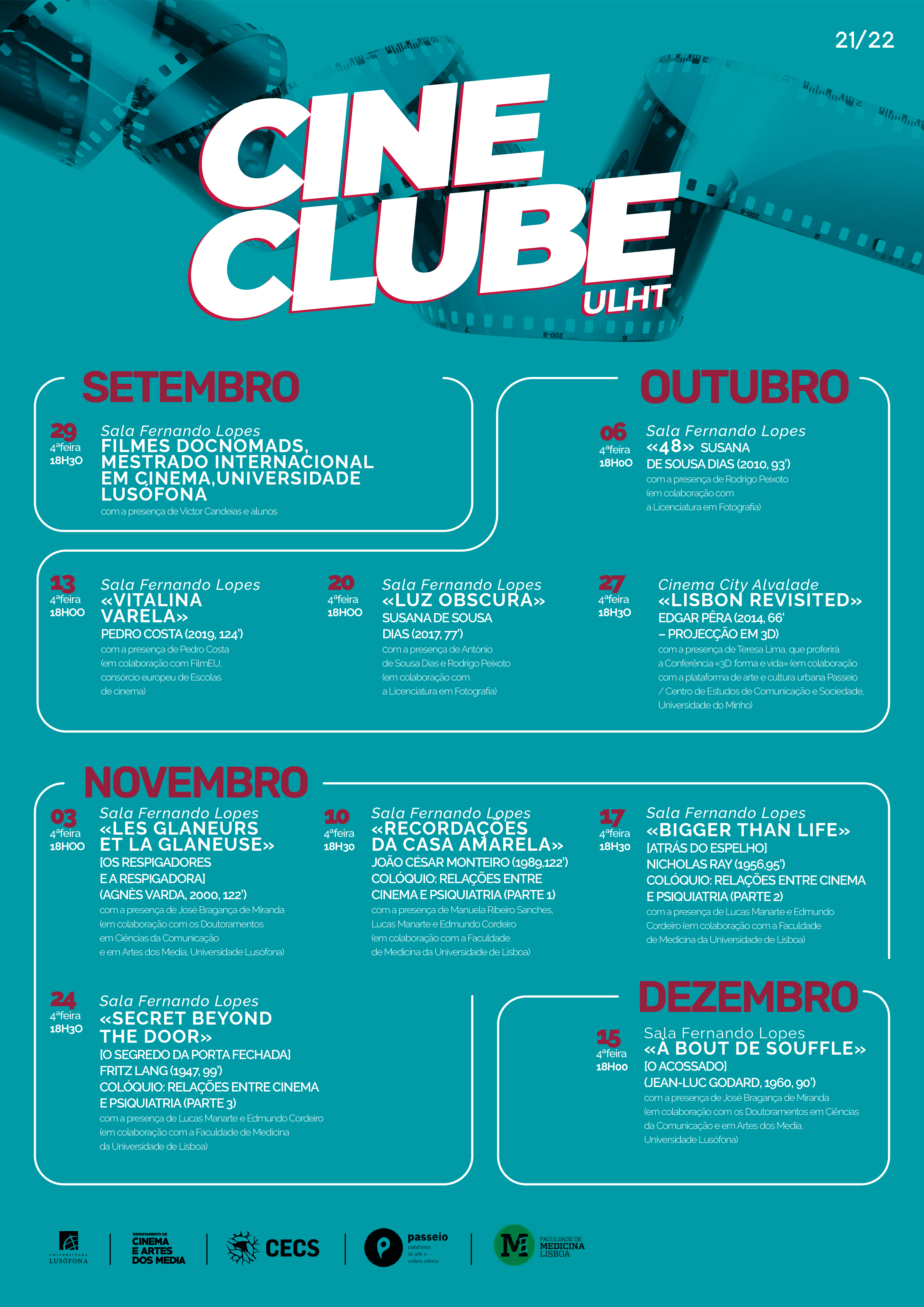 <h4>Programa cineclube</h4><p></p>